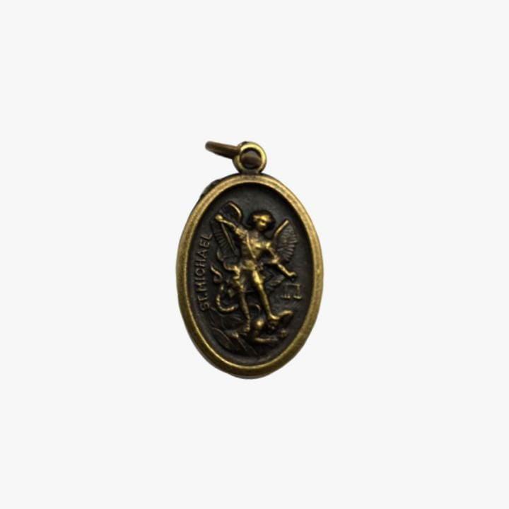 Medalha São Miguel Arcanjo 2cm x 1,5cm