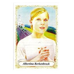 ALBERTINA BERKENBROCK - PACOTE C/ 100 SANTINHOS DE PAPEL