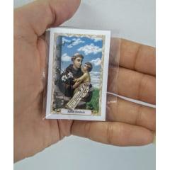 Imagem de bolso Santo Antônio Embalada com oração (pacote com 100)