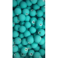 Bola Emborrachada Passante 08mm em plástico com 50G ( mais ou menos 120 bolinhas)