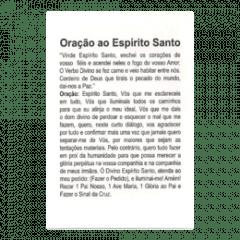 DIVINO ESPÍRITO SANTO - PACOTE C/ 100 SANTINHOS DE PAPEL