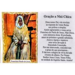 FRANCISCA PAULA DE JESUS (NHÁ CHICA)- PACOTE C/ 100 SANTINHOS DE PAPEL