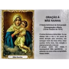 MÃE RAINHA PACOTE C/ 100 SANTINHOS DE PAPEL