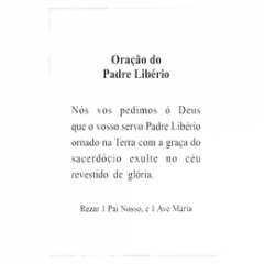 PADRE LIBÉRIO - PACOTE C/ 100 SANTINHOS DE PAPEL