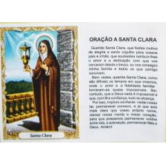 SANTA CLARA - PACOTE C/ 100 SANTINHOS DE PAPEL