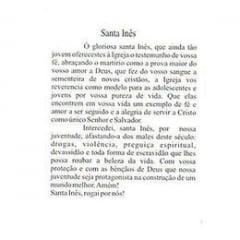 SANTA INÊS - PACOTE C/ 100 SANTINHOS DE PAPEL