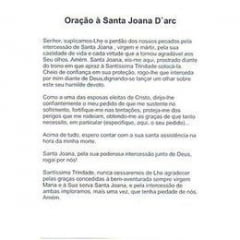 SANTA JOANA D'ARC - PACOTE C/ 100 SANTINHOS DE PAPEL