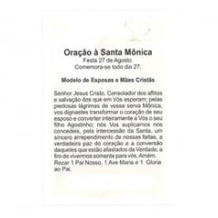 SANTA MÔNICA - PACOTE C/ 100 SANTINHOS DE PAPEL