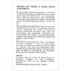 SANTA PAULA FRASSINETTI - PACOTE C/ 100 SANTINHOS DE PAPEL