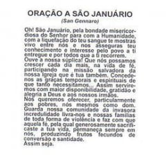 SÃO JANUÁRIO - PACOTE C/ 100 SANTINHOS DE PAPEL