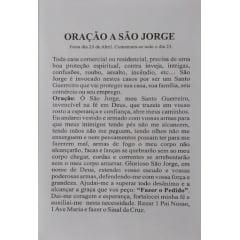 ORAÇÃO SÃO JORGE (PACOTE COM 100)