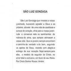 SÃO LUIZ GONZAGA- PACOTE C/ 100 SANTINHOS DE PAPEL
